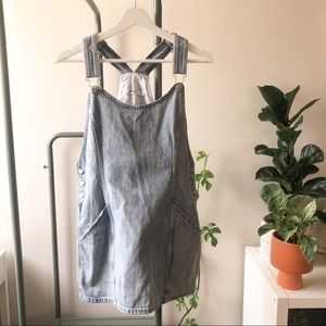 Obey Jean Overall Dress